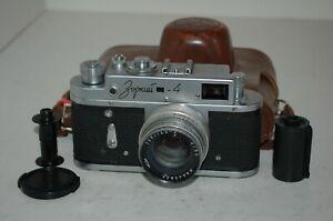 Zorki-4 Vintage 1968 Soviet Rangefinder Camera, Jupiter-8 Lens. 68010760 UK Sale