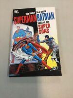Superman Batman Saga Of The Super Sons Tpb Paperback Book DC comics