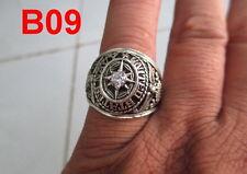 US NAVY Ring , Echt Silber 925 , DIAMAND Edelstein B09 Gr.50-70 TOP