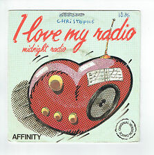 "AFFINITY Vinyle 45 tours SP 7"" MIDNIGHT RADIO - VOGUE 120008 Stéréo Pub Radio"