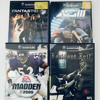 Lot Of 4 Nintendo Gamecube Games Case And Disc Only Tested!