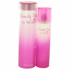 Simply Pink By Pink Sugar Aquolina 3.4 Oz EDT Spray NIB Sealed Perfume For Women