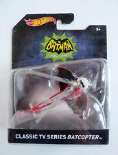 hot wheels batman classic tv series batcopter mattel
