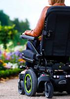Q 400 M Elektrorollstuhl 6km/h wendig elektrischer Rollstuhl Mittelradantrieb