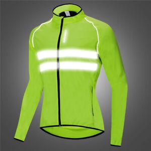 WATERPROOF/WINDPROOF Men's Long Sleeve Cycling Vest/Windbreaker Road/MTB/Gravel