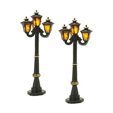 Dept 56 Victorian Street Lamps #4057580 NIB FREE SHIPPING 48 STATES