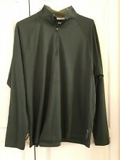 Reebock 1/4 Zip Neck Play Dry Pullover Size L