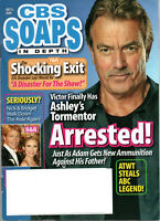 CBS Soaps In Depth Magazine July 6 2009 Eric Braeden Jack Wagner Cady McClain