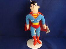 "Warner Bros Studio Store-Superman-11""-B ean Plush-D.C. Comics-New/Tags-Spiffy"