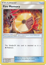 x4 Fire Memory - 123/156 - Uncommon Pokemon SM5 Ultra Prism M/NM English