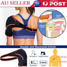 Adjustable Compression Shoulder Protection Support Brace Bandage Wrap Strap AU
