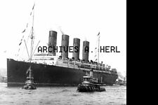 Lusitania of the Cunard Line photo  ca 8 x 10 print PRICE PER PRINT