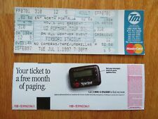 Unused U2 - Popmart July 1, 1997 Foxboro Stadium Concert Ticket Bono The Edge