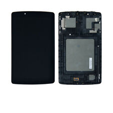For LG G Pad F 8.0 V495 V496 Touch Screen LCD Display Replacement Assembly Frame