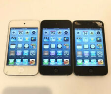 AS IS Lot of 3x Apple iPod Touch 4th Generations - Bad Screens