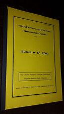 Société d'histoire de Fleurus - Bulletin n°37 2002 - Belgique