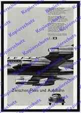 Photo Studio 13 Pkw Mercedes-Benz Lufthansa Boeing 720 Luftfahrt Leinfelden 1963