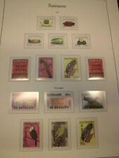 Sammlung Surinam 1983-1987 komplett (ohne 1149) sauber postfrisch (331)