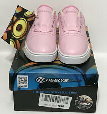 HEELYS Gr8 Pro HE100392H Pink Wheeled Skate Shoes Sz Youth Girls 2 New With Box