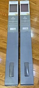 lot 2 NEW JC Penney Home Expressions Dover Gray Cordless Roman Shade 35 x 64