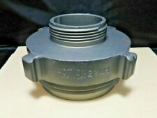 """New listing Action, Aluminum 4"""" Male Nh to 2 1/2"""" Male Nh Fire Hose Adapter"""