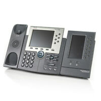 Cisco CP-7965G IP VoIP 6-Line Business Phone w/ 7916 Expansion Module -BASE ONLY