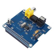 Raspberry Pi HIFI DiGi+ Digital Card I2S SPDIF Fiber for Raspberry pi model B ED