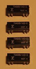 Lot de 4 relais Fujitsu reed DIP bobine 5V - 12mA - un contact 0,5A / 100V