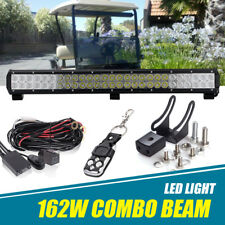 "25"" Inch 162W LED Light Bar+Wiring Kit For EZGO RXV Factory Style Golf Cart Full"