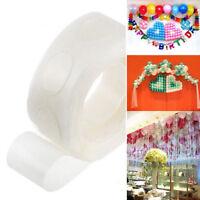EG _ NEUF 200 pois amovible Ballon Colle fête mariage anniversaire feuille FAS