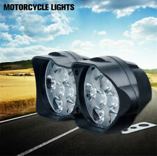 White 30W 18 LED ATV Quad Bike Spot Light Work Fog Driving Lamp Twin Headlight
