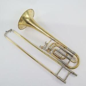 Bach Model 50B Professional Bass Trombone SN 8833 NEW YORK BACH