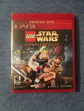 LEGO Star Wars The Complete Saga Greatest Hits Sony PlayStation 3 PS3 Brand New