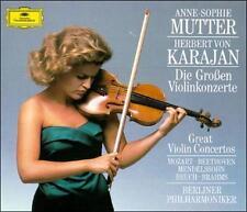 Great Violin Concerti [4 CD Box Set], New Music