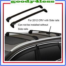 For 12-16 Honda CRV  Roof Rack Cross Bar Bolt-On to OEM Factory Holes Mount