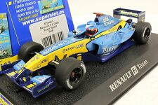 SCALEXTRIC C2649A SUPER SLOT H2649A RENAULT F1 NEW 1/32 SLOT CAR IN DISPLAY CASE