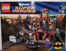 Lego INSTRUCTION BOOKLET for set 6857 Super Heroes DC Dynamic Duo Funhouse