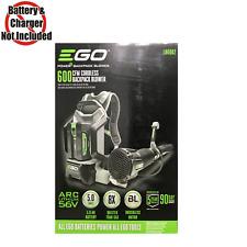 NEW EGO Backpack Blower Lithium Battery 145Mph 600Cfm 56V Cordless Leaf Blower