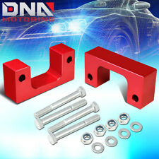 """FOR 2007-2017 SILVERADO/SIERRA 2.5""""FRONT SPACER LOW MOUNT LEVELING LIFT KIT RED"""