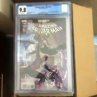 Amazing Spiderman #792 CGC 9.8 Venom Black Cat Scoprion Alex Ross free shipping