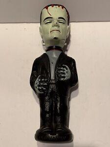 Vintage 1960's Frankenstein Universal Monsters Soaky Plastic Bottle - Colgate