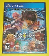Star Ocean: Integrity and Faithlessness (Sony PlayStation 4, 2016) NEW