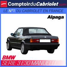 Capote type manuelle Bmw E30 cabriolet - Alpaga Twillfast®