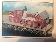 CSM NORTHEASTERN N SCALE SAM CAHOON'S FISH PIER  WOOD CRAFTSMAN KIT NE10109