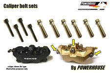 Suzuki GSXR 1000 K5 K6 Stainless joint bolt & pin set front brake calipers