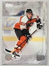 2000-01 JUSTIN WILLIAMS TOPPS STARS ROOKIE #109 FLYERS