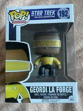 Geordi La Forge Funko Pop Vinyl Figure #192 Star Trek The Next Generation