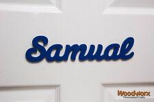 Personalised Children's Wooden Name Plaques / Door Sign / Bedroom Door Sign #15