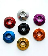 M6 x 24mm Load Spreading Cone Washers Anodised Aluminium - 7 colours