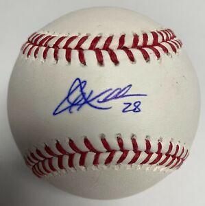 Corey Kluber Signed Major League Baseball MLB BAS E39748 Indians Yankees